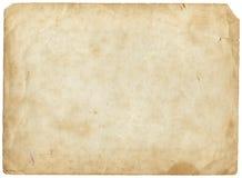 Viejo marrón de papel foto de archivo libre de regalías