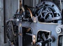 Viejo mecanismo del reloj Imagen de archivo