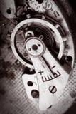 Viejo mecanismo macro imágenes de archivo libres de regalías