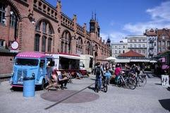Viejo mercado Fotos de archivo