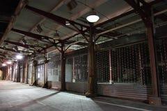 Viejo mercado de pescados de Manhattan, puerto marítimo Fotografía de archivo libre de regalías