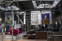 Viejo mercado de Spitalfields en Londres Fotos de archivo libres de regalías