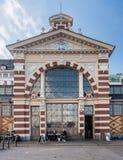 Viejo mercado Pasillo en Helsinki, Finlandia imagen de archivo