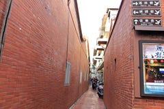 Viejo mercado Street.Taiwan de Lugangs Imágenes de archivo libres de regalías