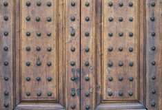Viejo modelo de la textura de la puerta Imagen de archivo