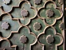 Viejo modelo del adorno de la flor de Taj Mahal Imágenes de archivo libres de regalías