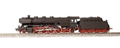 Viejo modelo del loco del vapor Foto de archivo libre de regalías