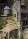 Viejo modelo del molino Imagenes de archivo