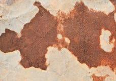 Viejo moho del hierro del metal Foto de archivo