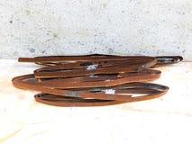 Viejo moho del hierro del metal Fotografía de archivo libre de regalías