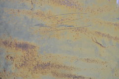 Viejo moho del metal Foto de archivo libre de regalías