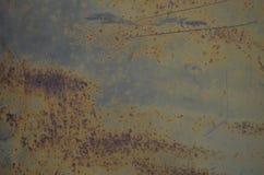 Viejo moho del metal Fotografía de archivo libre de regalías