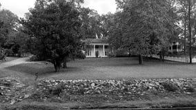 Viejo ms Mineral Springs Park de Iuka del hogar de la plantación Foto de archivo
