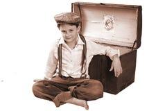 Viejo niño de la manera Imagen de archivo