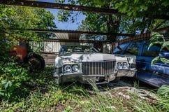 viejo nosotros coche Fotografía de archivo libre de regalías