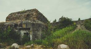 Viejo paisaje del fuerte Fotografía de archivo libre de regalías