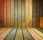 Viejo, pared de madera del grunge usada como fondo foto de archivo