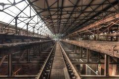 Viejo Pasillo oxidado Imagen de archivo