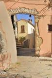 Viejo paso en Marciana, Elba Imagen de archivo libre de regalías