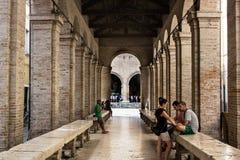 Viejo paso en Rímini Fotos de archivo libres de regalías
