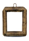 Viejo pequeño marco para una foto Imágenes de archivo libres de regalías