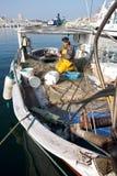 Viejo pescador Foto de archivo libre de regalías