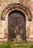 Viejo plan del rnego de la puerta imagen de archivo libre de regalías