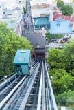 Viejo Quebec funicular Foto de archivo