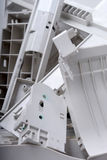 Viejo reciclaje del mobiliario de oficinas Imagen de archivo