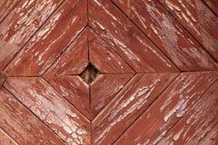 Viejo Rhombus pintado del tablón Imagen de archivo libre de regalías