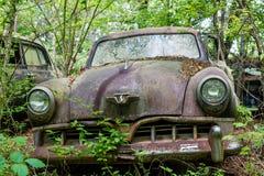 Viejo Rusty Studebaker imagen de archivo libre de regalías