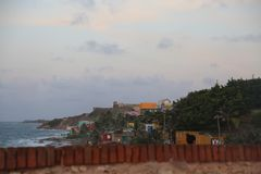 Viejo San Juan do EL, San Juan velho, perla do La Foto de Stock