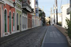 Viejo San Juan, Oud San Juan Stock Foto's