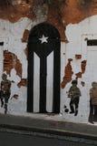 Viejo San Juan, Oud San Juan, La-perla van Gr Stock Foto