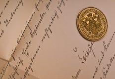Viejo sello Fotografía de archivo