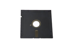 Viejo sistema del almacenamiento de datos: solos 5 del disco blando Foto de archivo libre de regalías