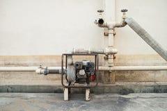 Viejo sistema extintor Foto de archivo libre de regalías