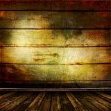 Viejo sitio con las paredes de madera viejas Fotos de archivo libres de regalías