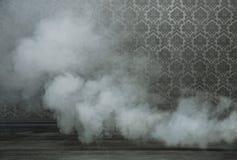 Viejo sitio del grunfe llenado de humo Fotos de archivo