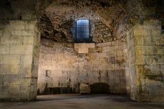 Viejo sitio subterráneo fotografía de archivo