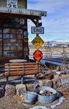 Viejo stillife del granero Foto de archivo libre de regalías