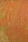 Viejo tablero de madera de la cerca con la pintura de la peladura Imágenes de archivo libres de regalías