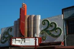 Viejo teatro Foto de archivo libre de regalías