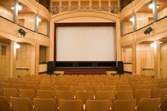 Viejo teatro fotografía de archivo libre de regalías