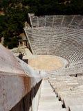 Viejo teatro de Epidauros foto de archivo libre de regalías