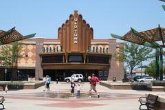 Viejo teatro del vedado de la ciudad Fotografía de archivo libre de regalías
