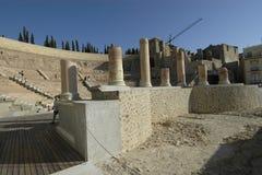 Viejo teatro romano Imagen de archivo libre de regalías