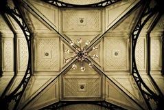 Viejo techo de la iglesia fotos de archivo libres de regalías