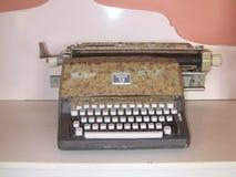 Viejo tipo programa de escritura Foto de archivo