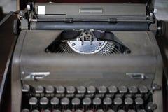 viejo tipo retro technolo manual tan clásico del vintage de la máquina del escritor Imagen de archivo
